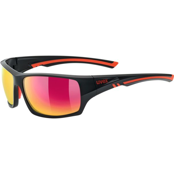 6ff6b0f09d Uvex Sportstyle 222 pola Sunglasses black mat red buy online in the ...