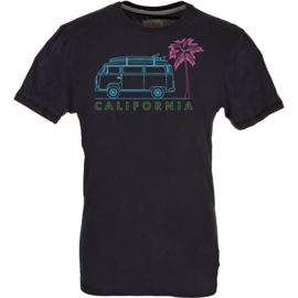 Van One Classic Cars Herren T2 California T-Shirt