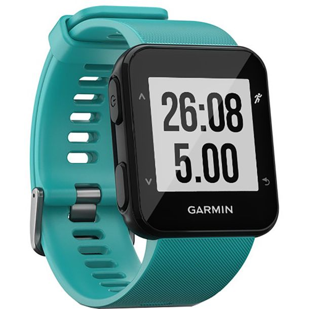 garmin forerunner 30 gps uhr t rkis kaufen bergzeit. Black Bedroom Furniture Sets. Home Design Ideas