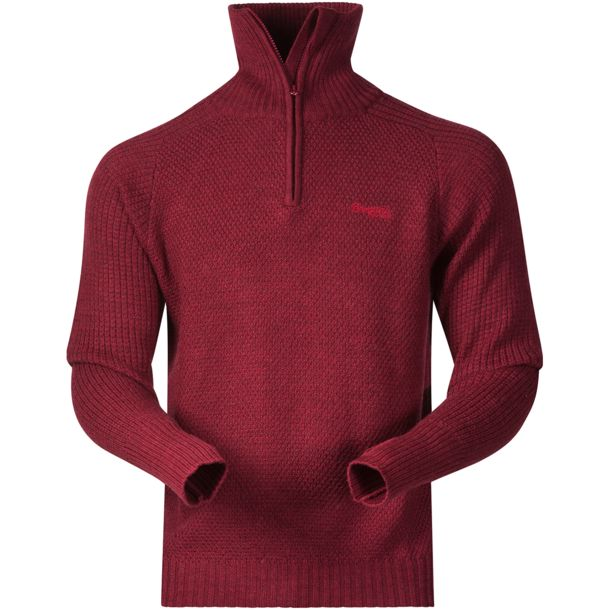 Men's Ulriken Jumper burgundy mel M