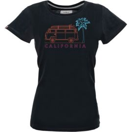 Van One Classic Cars Damen T2 California T-Shirt