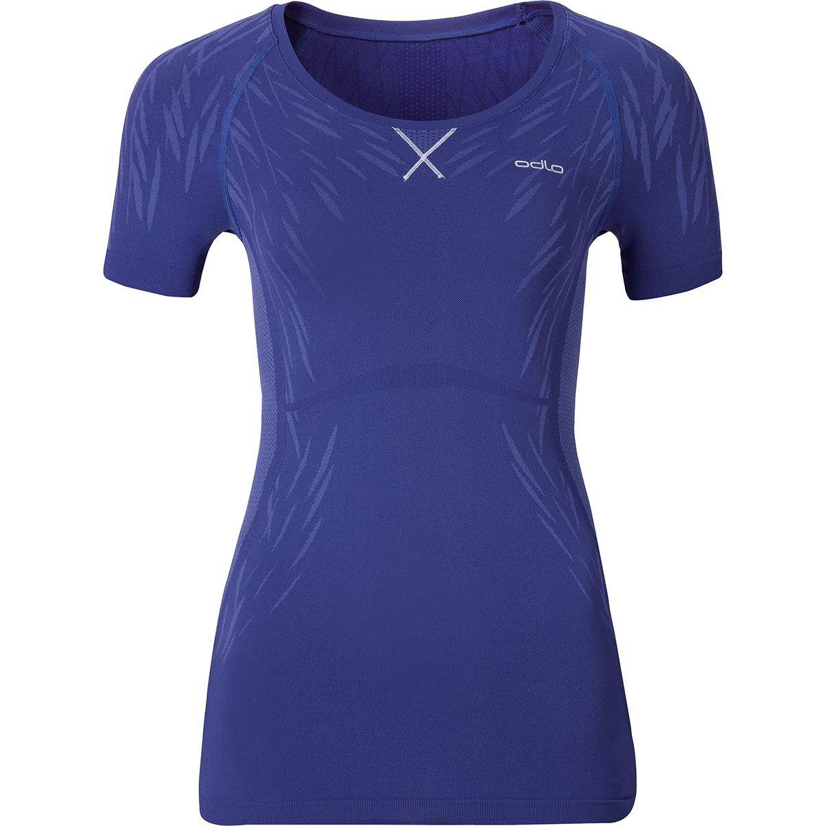 Odlo Damen Evolution Light Blackcomb T-Shirt (Größe XS, Blau) | Kurzarm Unterhemden > Damen