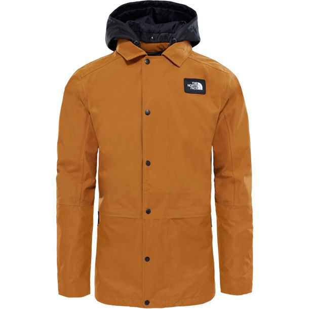 Herren Rambler Jacke golden brown tnf black L