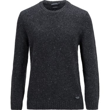 Peak Performance Men's Neps Crew Sweater dk grey mel S