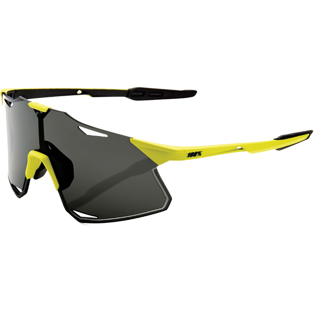 Image of 100% Hypercraft Smoke Sonnenbrille (Gelb)