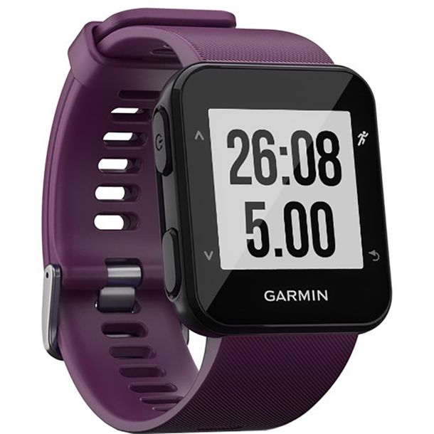 garmin forerunner 30 gps uhr amethyst kaufen bergzeit. Black Bedroom Furniture Sets. Home Design Ideas