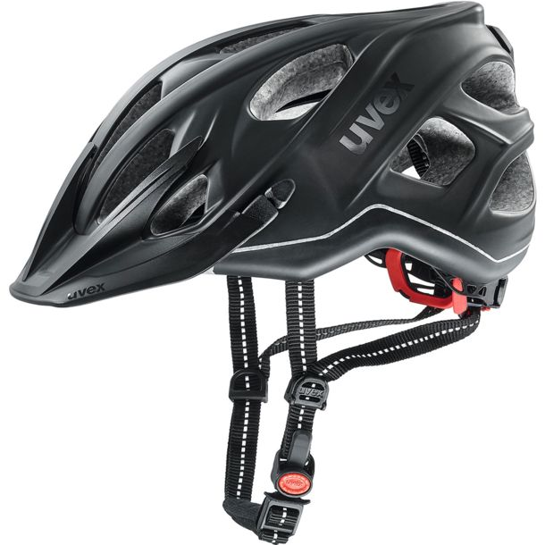Uvex City Light Radhelm anthrazit mat 52-57cm