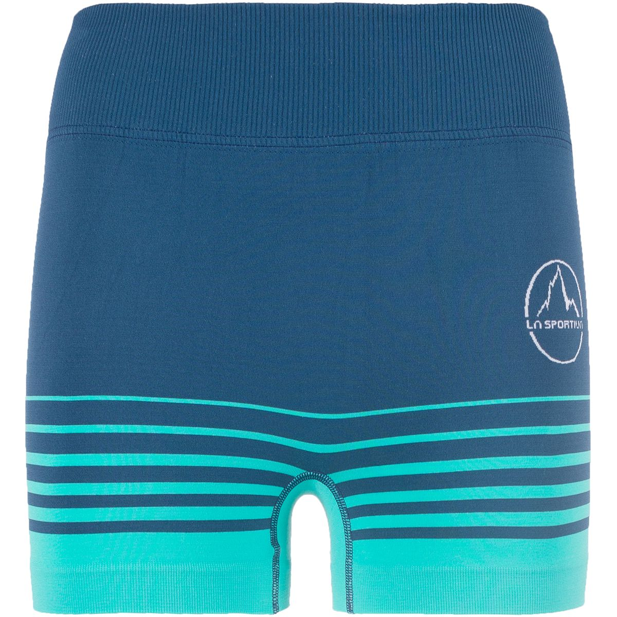 La Sportiva Damen Podium Tight Shorts (Größe L, Blau) | Laufhosen > Damen