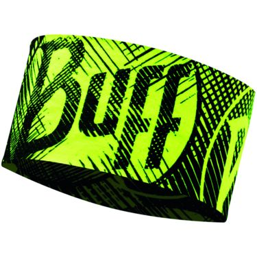 Buff Headband Buff log us yellow fluor