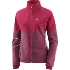 Salomon Damen Elevate Softshell Jacke