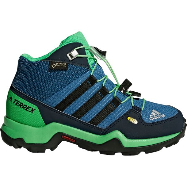 Kinder Terrex Mid GTX Schuhe core blue core black UK 3