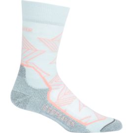 Icebreaker Damen Hike+ Light Crew Intersecting Arrows Socken