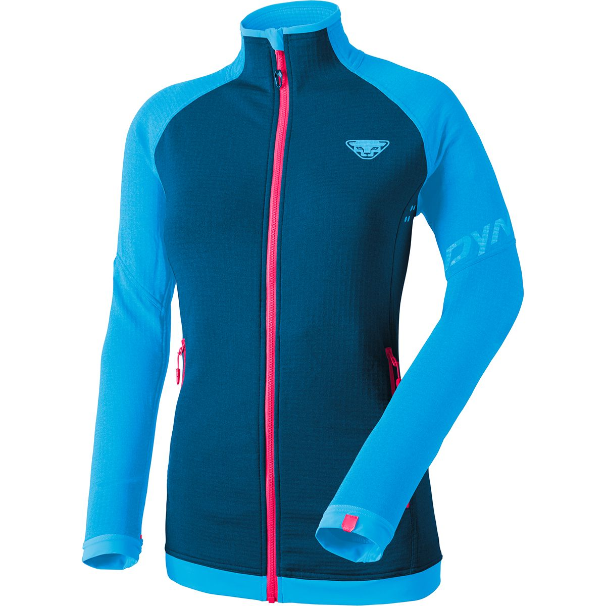Dynafit Damen Elevation 2 Thermal Ptc Jacke (Größe S, Blau) | Fleecejacken > Damen