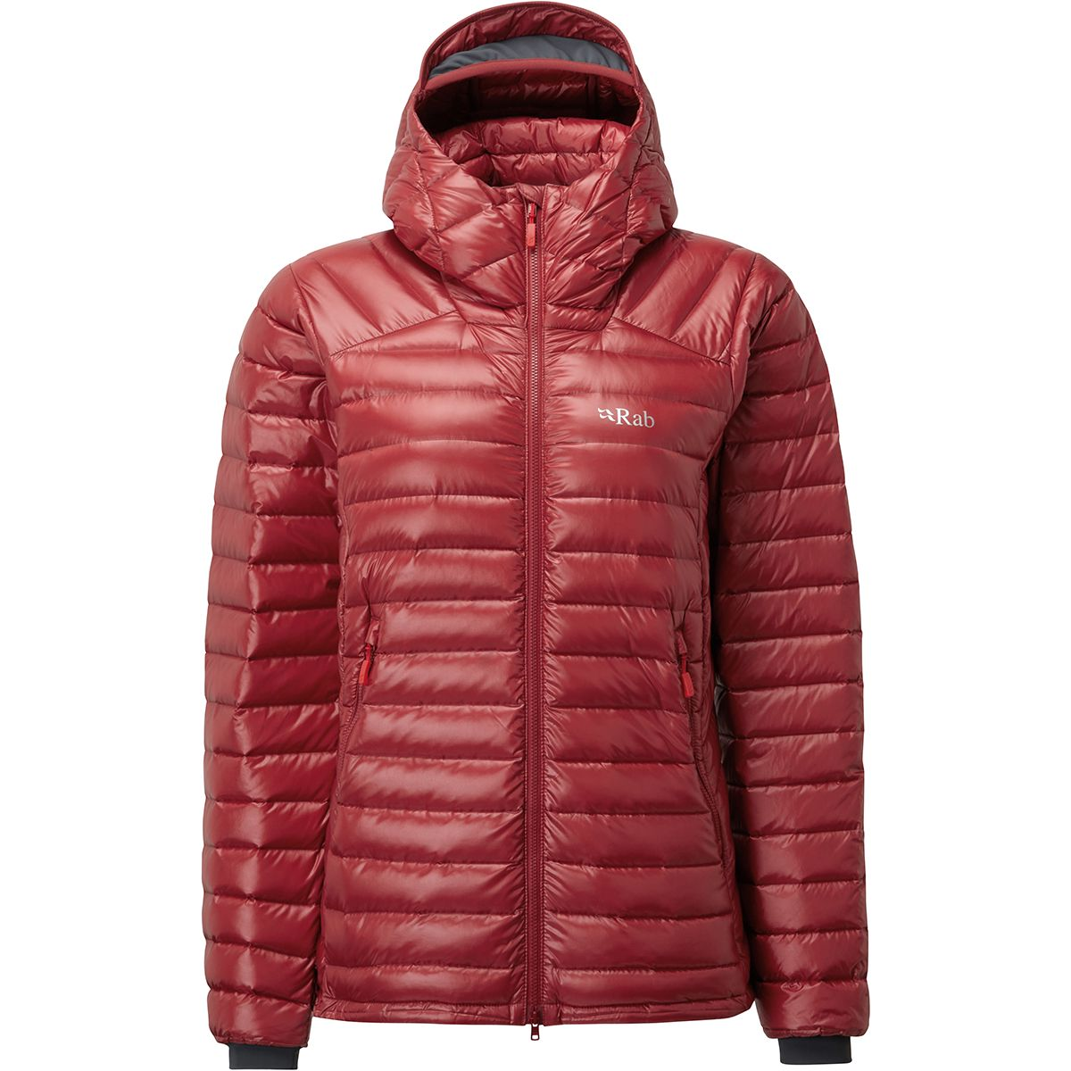 Rab Damen Microlight Summit Jacke (Größe XS, Rot) | Isolationsjacken > Damen