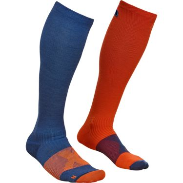 22223ffe58bb64 ... Ortovox Herren Tour Compression Socke night blue 39-41