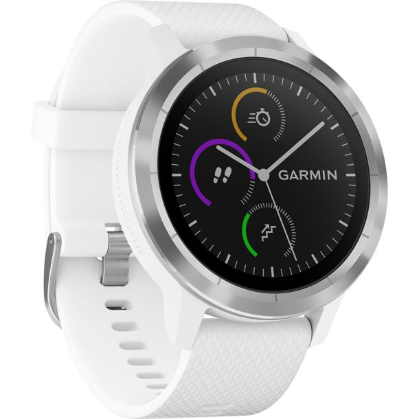 garmin vivoactive 3 gps uhr white kaufen im bergzeit shop. Black Bedroom Furniture Sets. Home Design Ideas