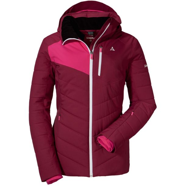 Damen Marseille3 Jacke beet red 40