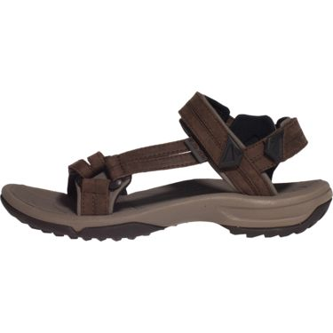 Teva Damen Terra Fi Leather Sandale brown US 6