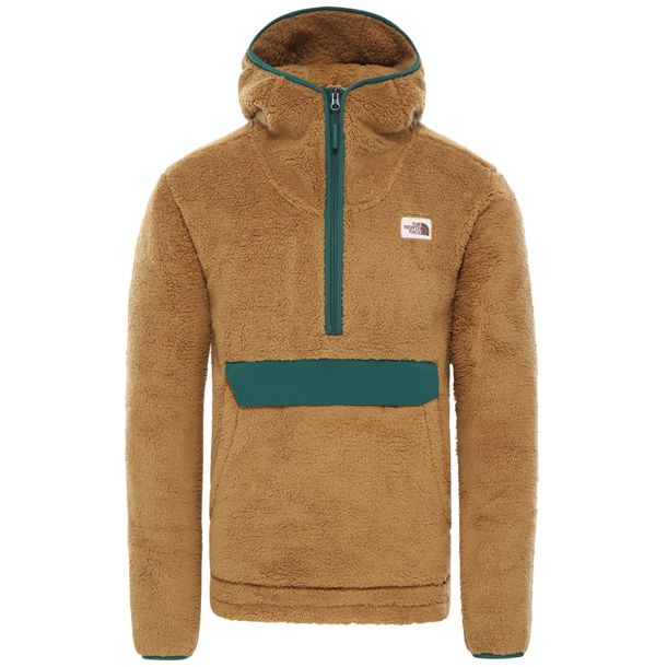 Herren Campshire Hoodie british khaki night green S