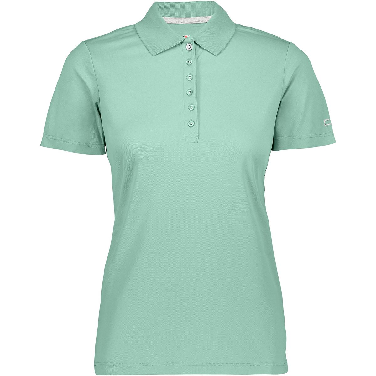 CMP Damen Polo T-Shirt (Größe XL, Türkis) | T-Shirts Funktion > Damen