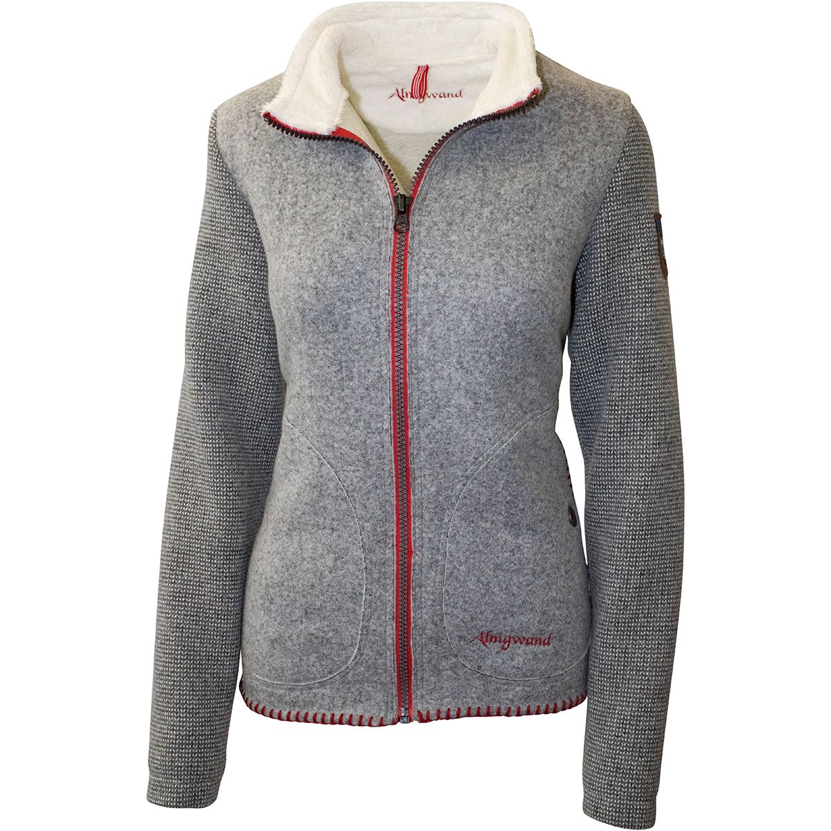 Almgwand Damen Gernkogel Jacke  | Strickjacken > Damen