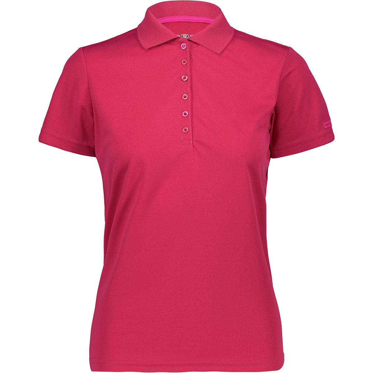 CMP Damen Polo T-Shirt (Größe XS, Pink) | T-Shirts Funktion > Damen
