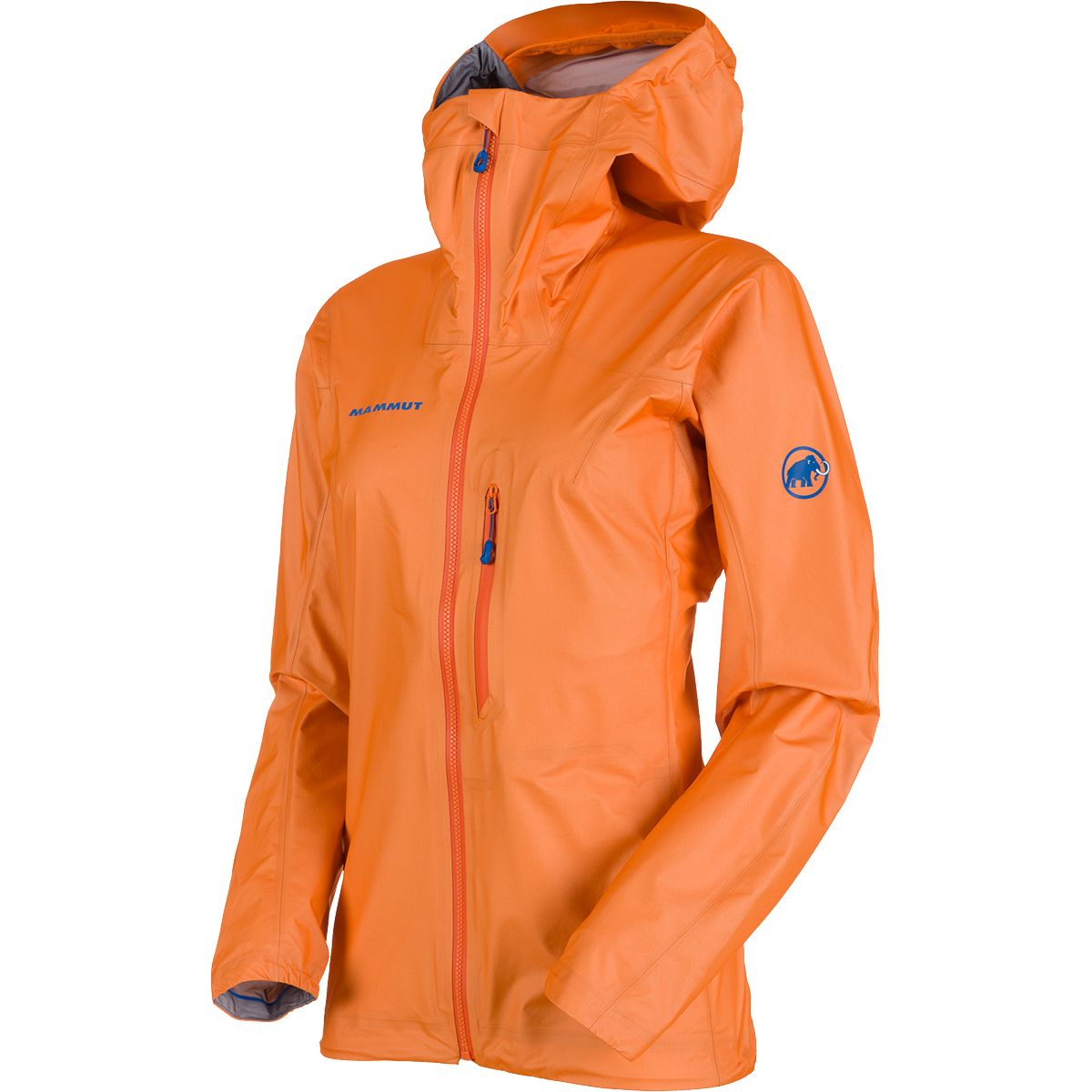 Mammut Damen Nordwand Light HS Hooded Jacke (Größe L, Orange) | Hardshelljacken & Regenjacken > Damen