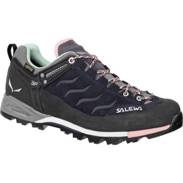 Salewa Damen MTN Trainer GTX Schuhe premium navy-subtle green UK 3
