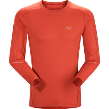 Arcteryx Men's Motus Crew Long Sleeve madder S