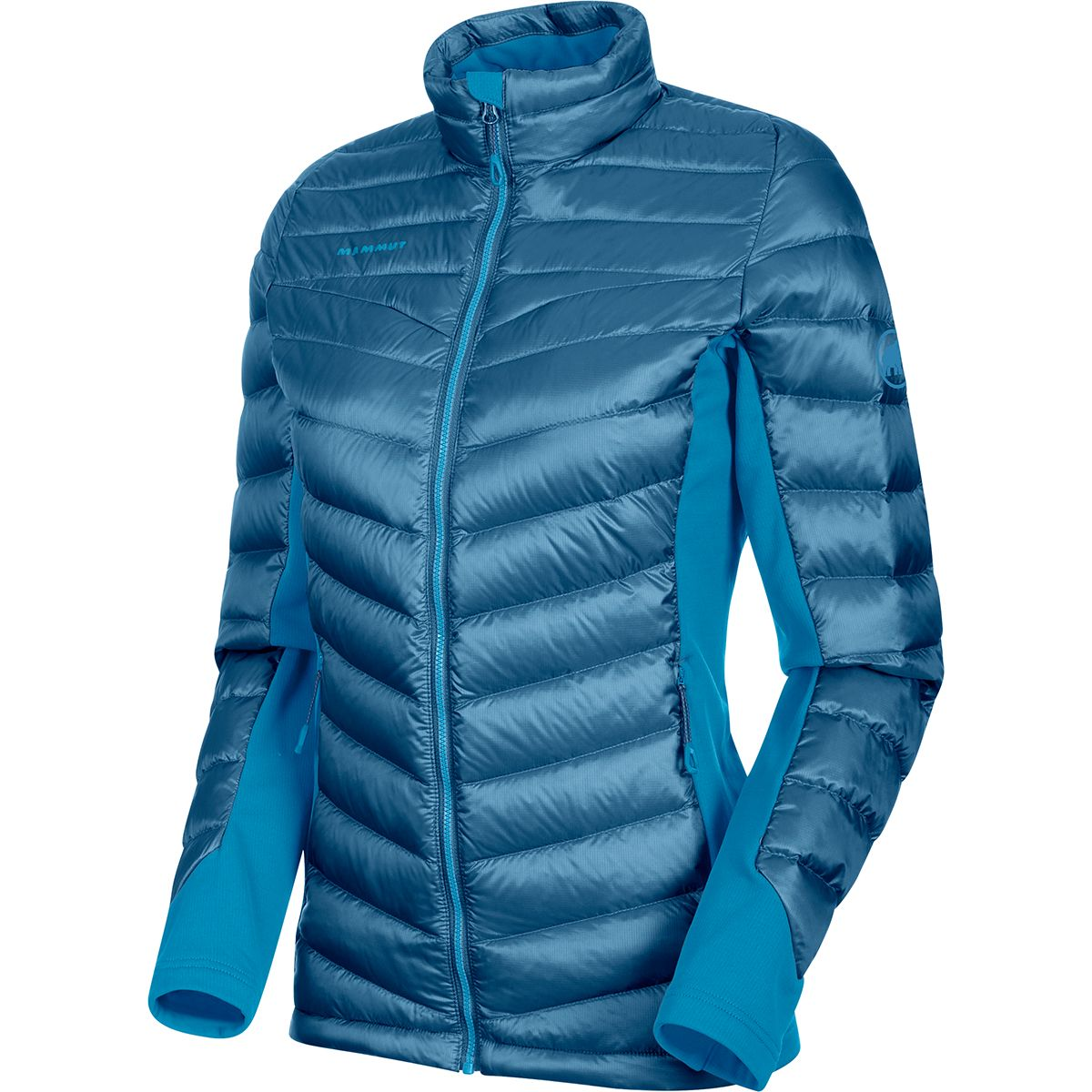 Mammut Damen Flexidown In Jacke (Größe L, Blau) | Isolationsjacken > Damen