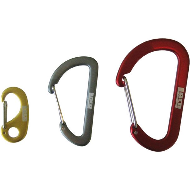 LACD Set of three accessory carabiners