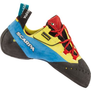 Scarpa Chimera Kletterschuhe yellow-black 45