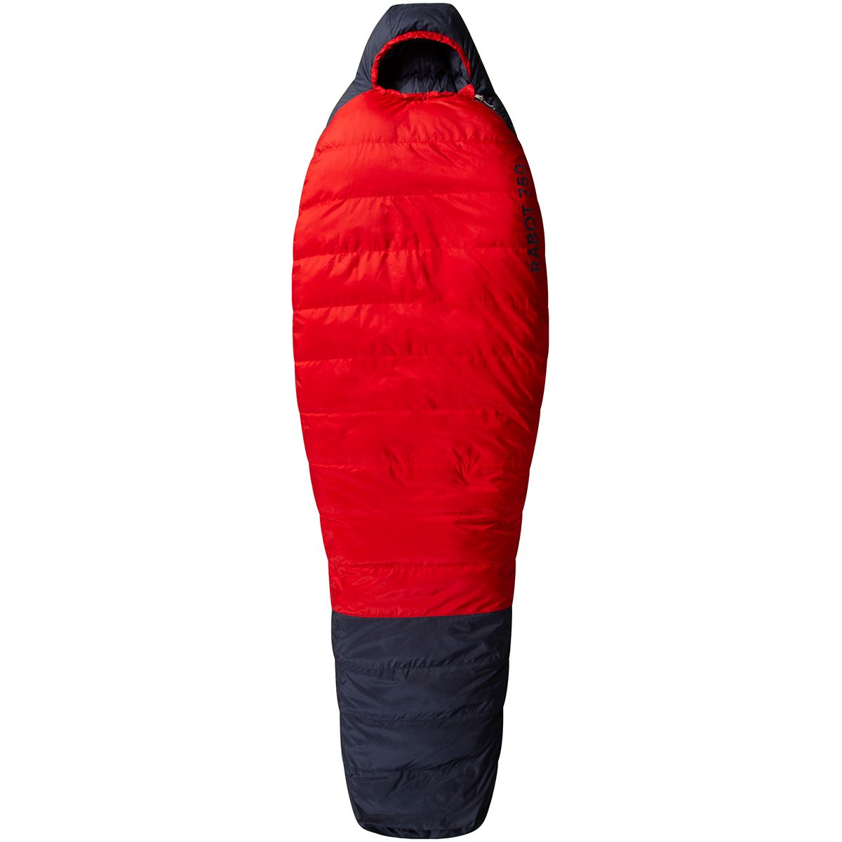 Image of Bergans Rabot Down 750 Schlafsack (Rot)