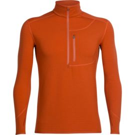 Icebreaker Men's Descender LS Half Zip