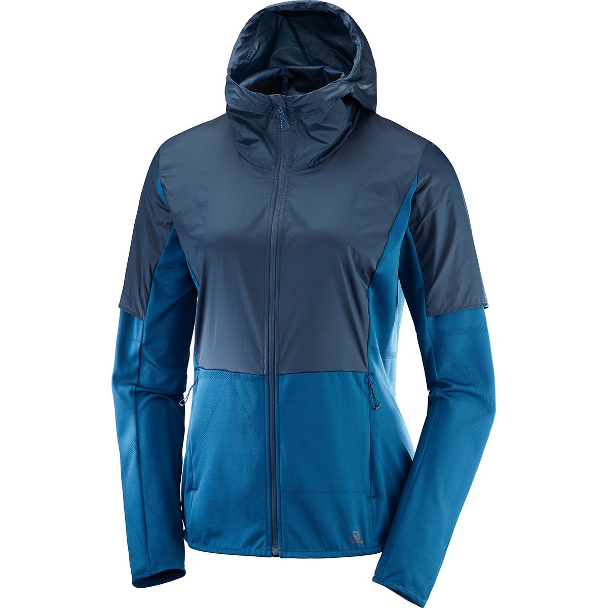 Salomon Damen Elevate Aero Jacke (Größe XS, Blau) | Windbreaker > Damen