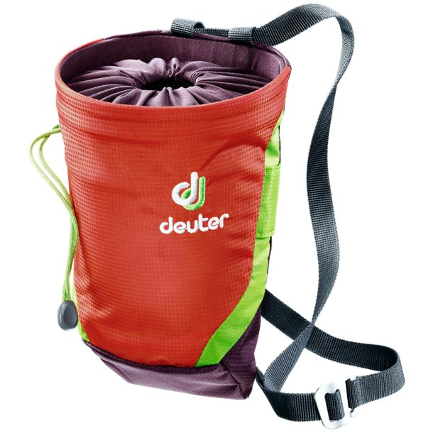 Deuter Gravity Chalk Bag II papaya-aubergine L
