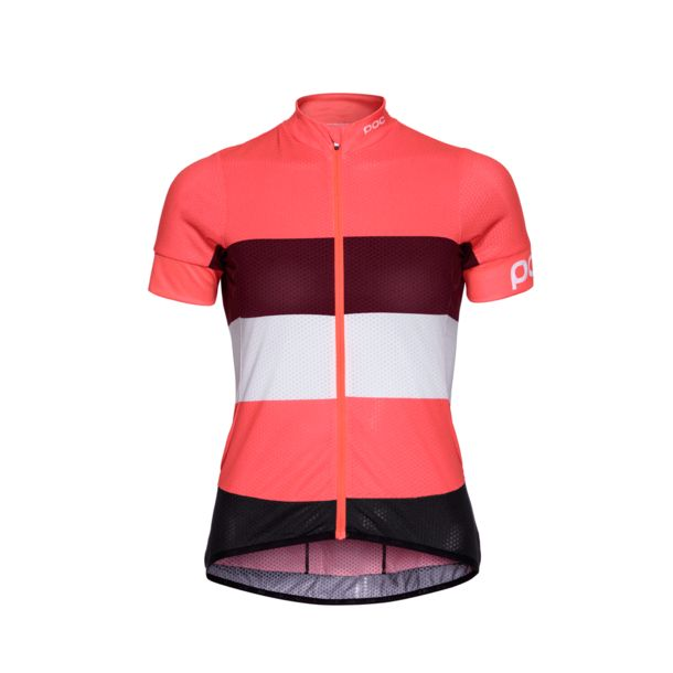 POC Women s Essential Road Light Cycling Jersey flerovium pink-hydrogen  white ... cc7e46313