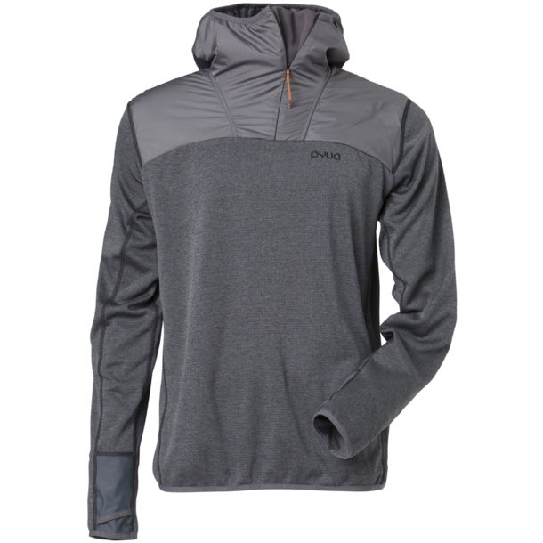 Pyua Men's Bounce Hybrid Fleece Shirt grey melange S