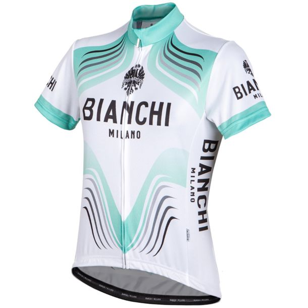 Bianchi Women's Tuela Cycling Jersey Women weiss/mint XS