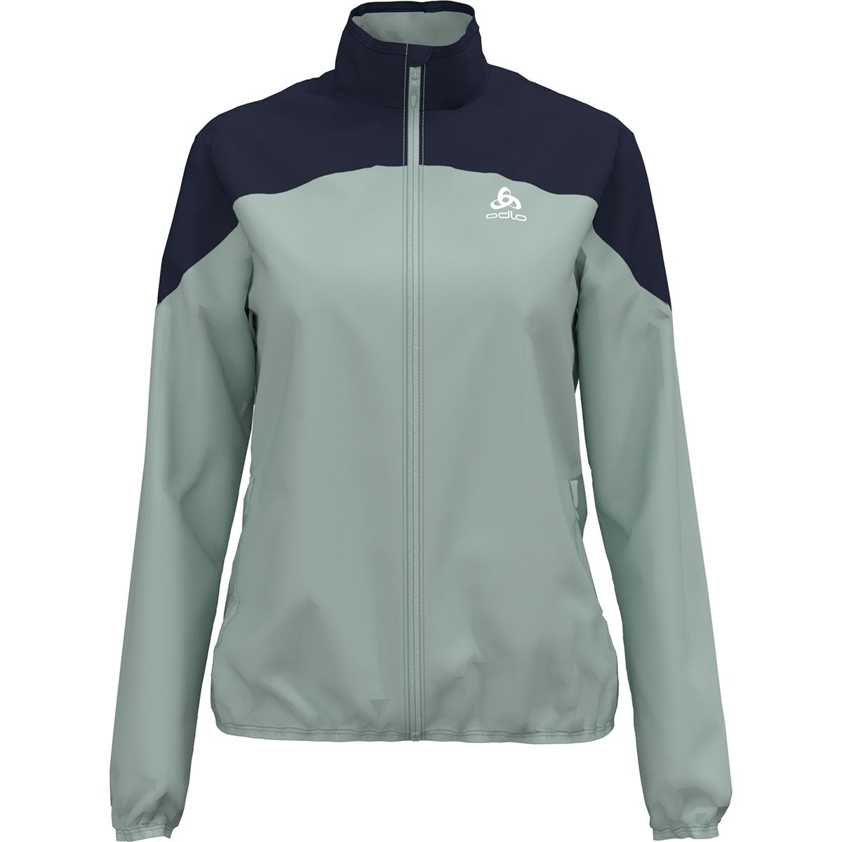 Odlo Damen Core Light Jacke (Größe L, Grün) | Windbreaker > Damen