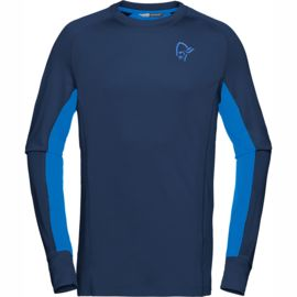 Norrona Men's Fjorä Powerwool Long Sleeve