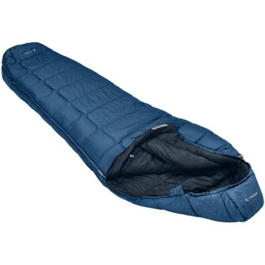 Vaude Sioux 1000 Syn Synthetic Sleeping Bag baltic sea LEFT
