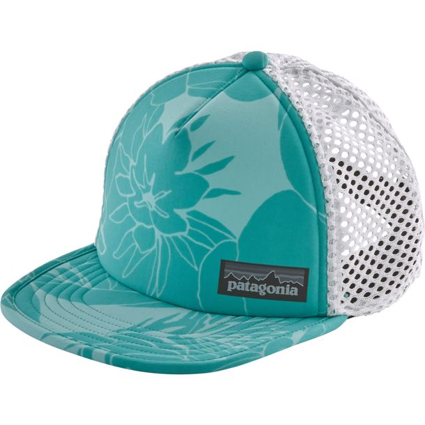 45dddd78 Patagonia Duckbill Trucker Cap valley flora-strait blue ONE SIZE buy ...