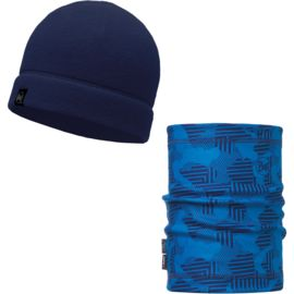 Buff Polar Hat + Polar Neckwarmer Set