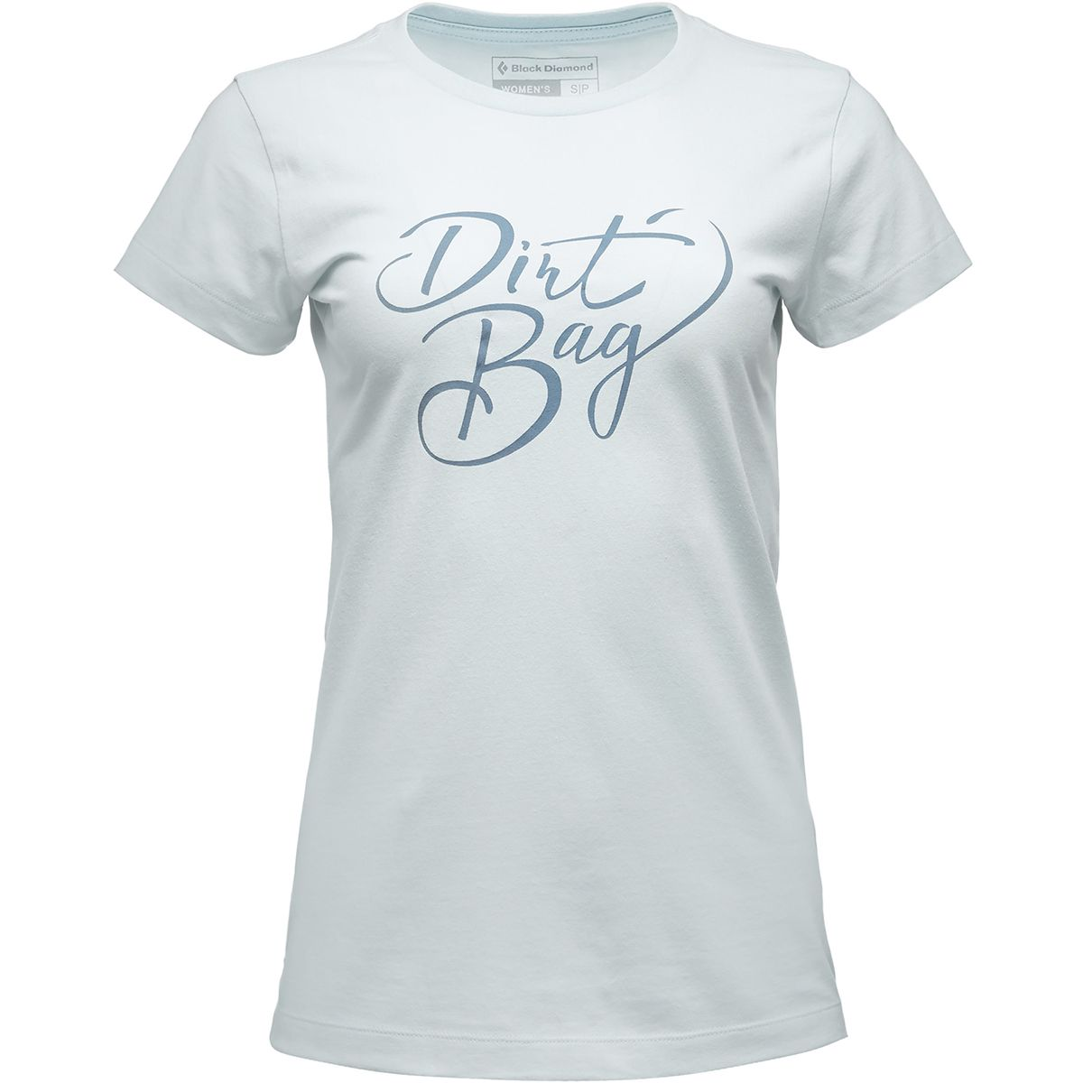 Black Diamond Damen Dirt Bag T-Shirt (Größe S, Blau) | T-Shirts Freizeit > Damen