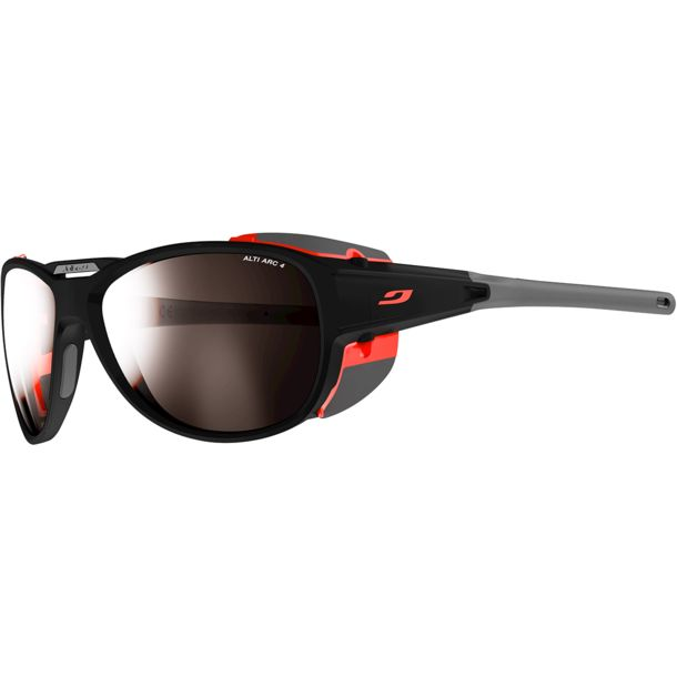 Julbo Herren Explorer 2.0 Alti Arc 4 Gletscherbrille anthrazit/orange