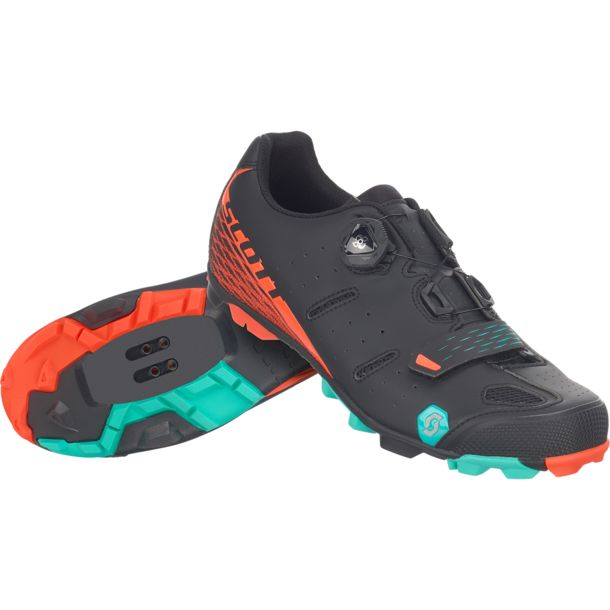 Scott Damen MTB Elite Boa Radschuhe matt black/orange 37