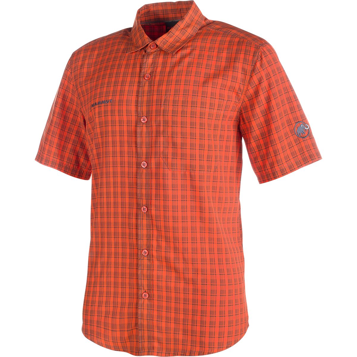 Mammut Herren Lenni Shirt dark orange-titanium XL 1030-01830-2152-XL