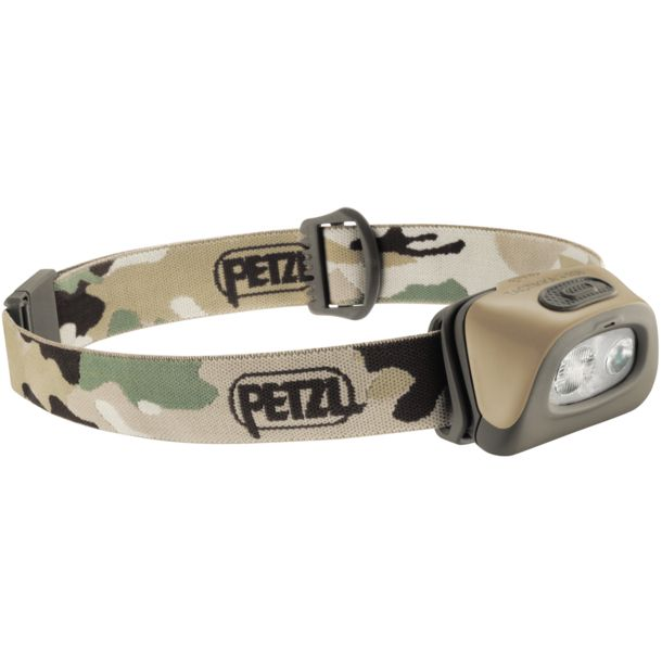Petzl Tactikka RGB Headlamp camo