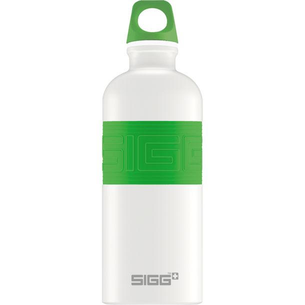 sigg cyd pure white trinkflasche touch green kaufen. Black Bedroom Furniture Sets. Home Design Ideas